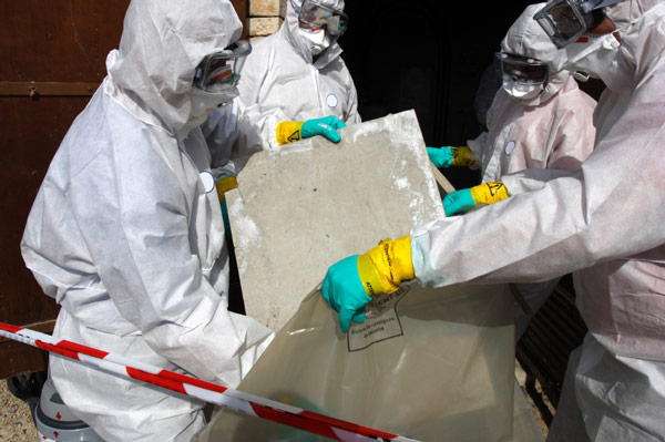 hazmat removal and asbestos removal services