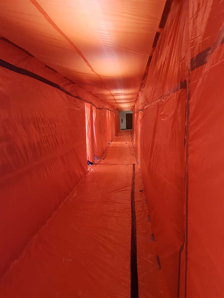 Process of Asbestos Removal Services